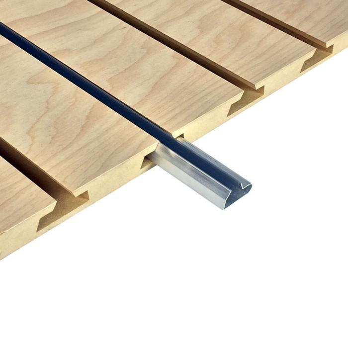 aluminum slatwall inserts