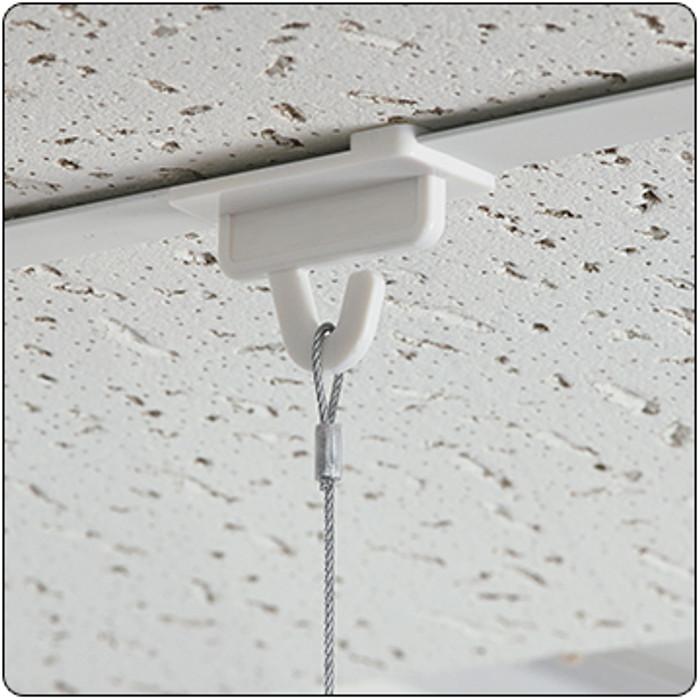 Twist On Ceiling Tile Hook Sign Hang Hardware Dgs Retail