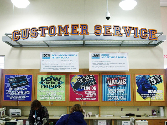 college bookstore sign design