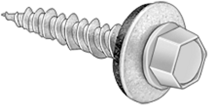 self tapping metal screw