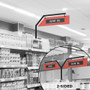 retail signage for aisles