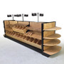 lozier madix wood gondola store shelving for bakeries