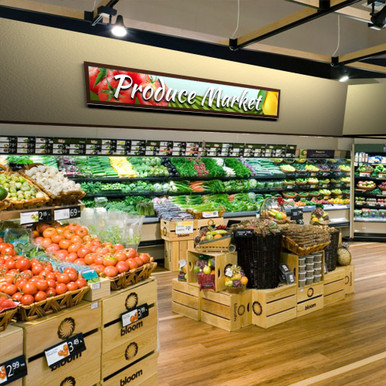 Supermarket Signage Produce Department Signs