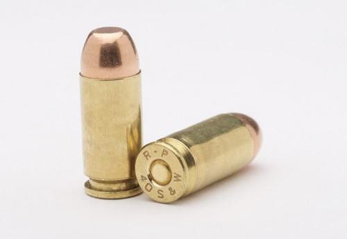 40 S&W 165gr FMJ -Remanufactured Ammunition