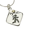 Sporty Gal Mountain Runner Pendant