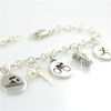 Charm Bracelet for Triathletes