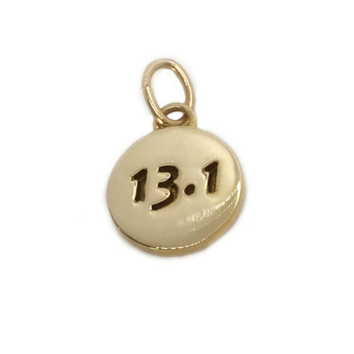 14kt Gold 13.1 Charm