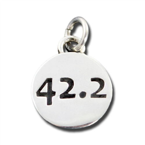 Sterling Silver 42.2 Charm