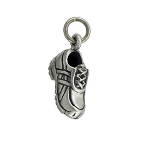 Sterling Silver Mini Running Shoe Charm