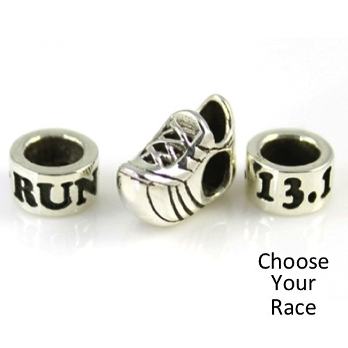 RUN, Shoe, Race 3-Bead Combo - InspiredEndurance.Com