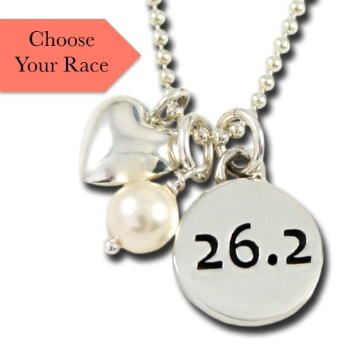 Classic Race Charm Necklace