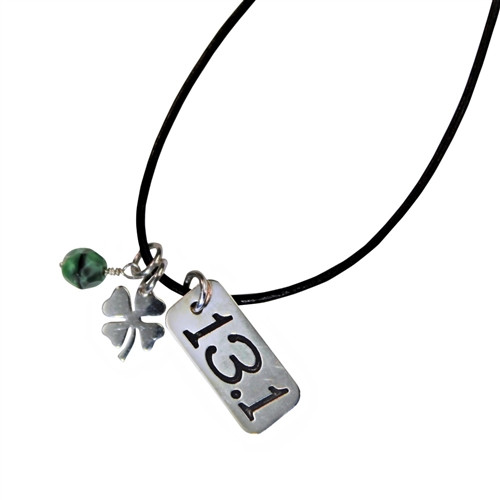 13.1 Shamrock Power Charm Necklace