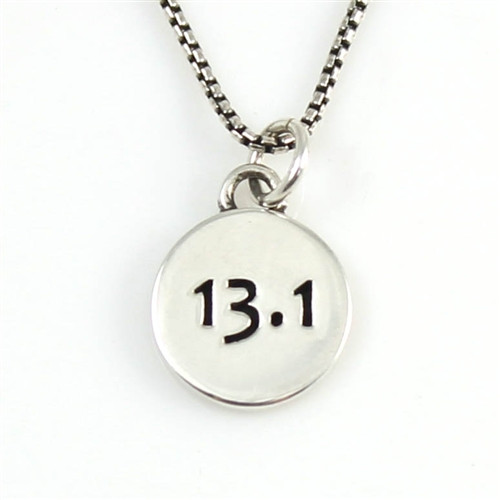 13.1 Sterling Silver Race Necklace