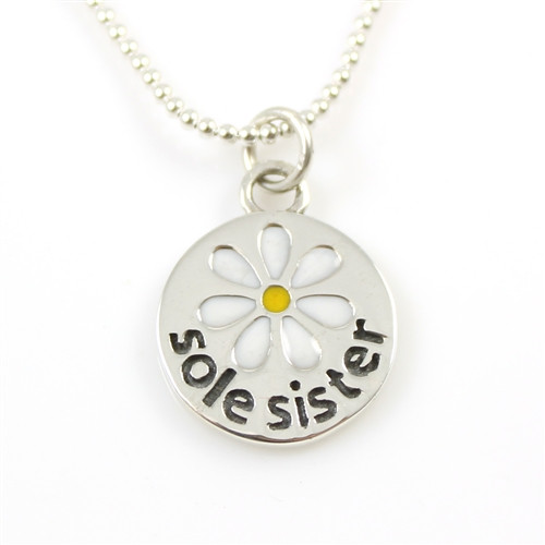 Sterling Silver Sole Sister Necklace