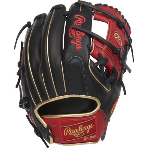 """RAWLINGS HEART OF THE HIDE 11.5"""" LIMITED EDITION RHT INFIELD BASEBALL GLOVE W/COLORSYNC PATCHES"""
