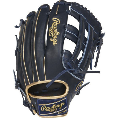 """RAWLINGS HEART OF THE HIDE 12.5"""" LIMITED EDITION RHT OUTFIELD BASEBALL GLOVE W/COLORSYNC PATCHES"""