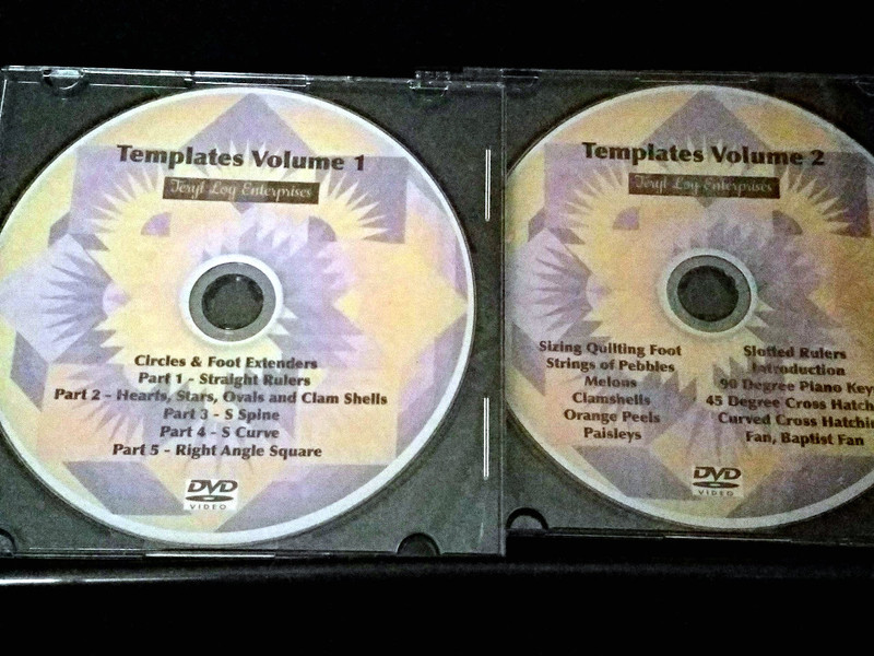Template Videos DVD, Vol 1 and 2 (Intro Offer)