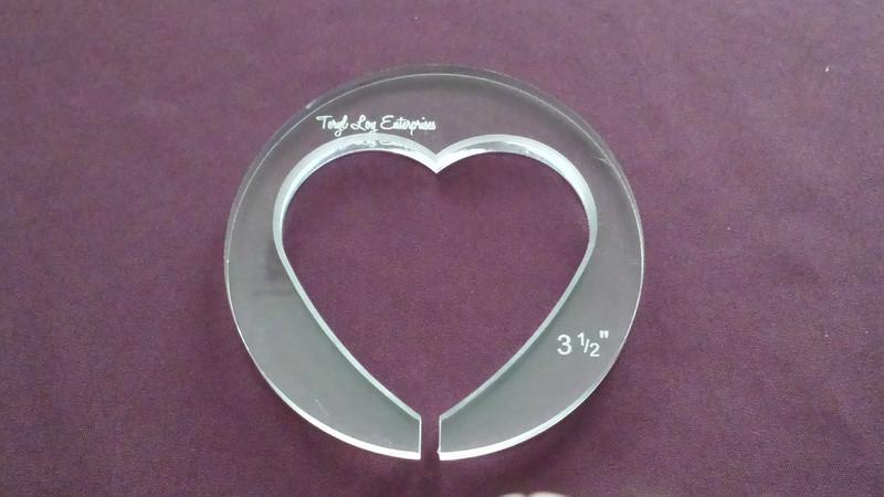 Heart, 3-1/2 inch