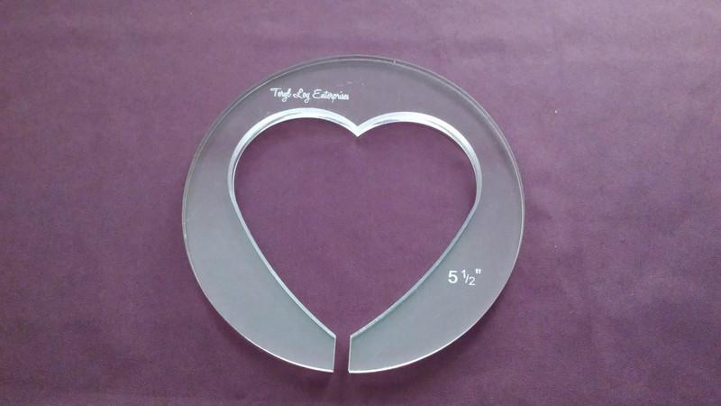 Heart, 5-1/2 inch