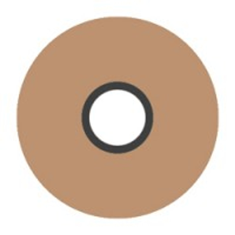 Magna-Glide 'L' Bobbins, Jar of 20, 24655 Light Tan