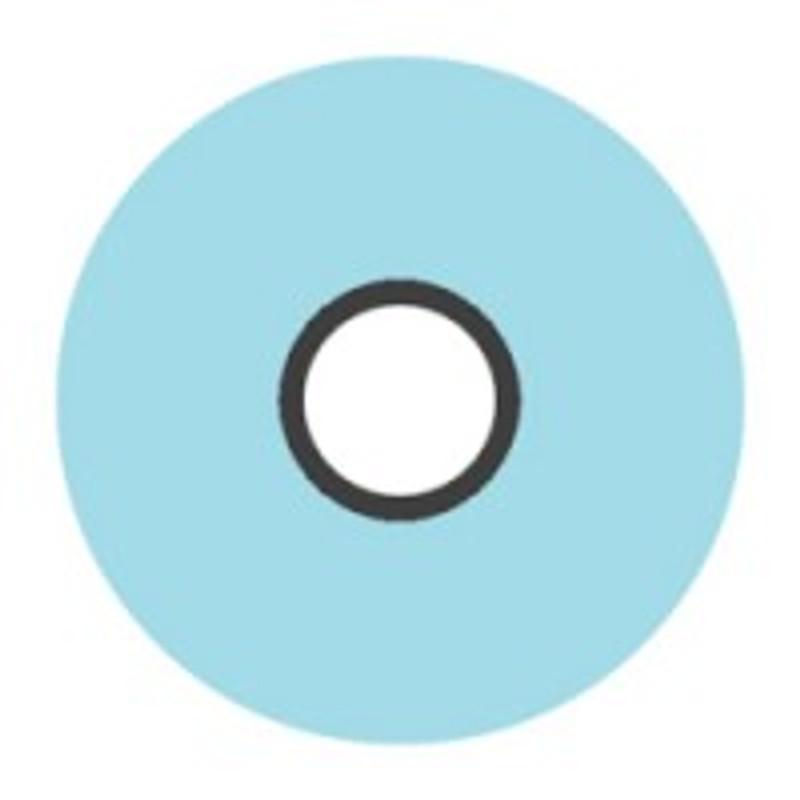 Magna-Glide 'L' Bobbins, Jar of 20, 32975 LT Turquoise