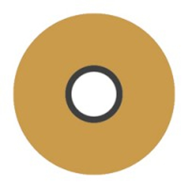 Magna-Glide 'L' Bobbins, Jar of 20, 27407 Military Gold