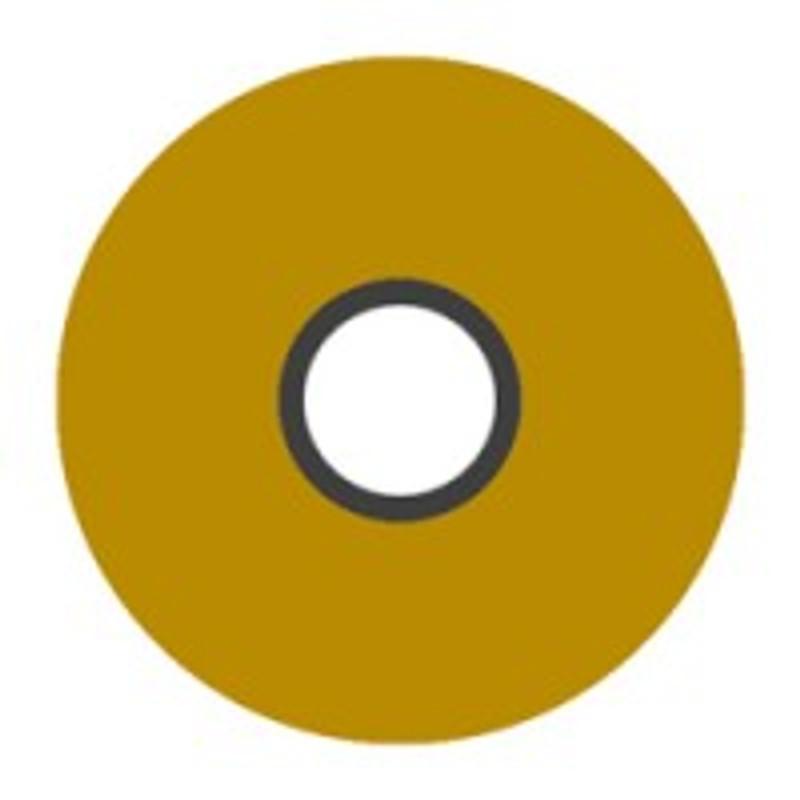 Magna-Glide 'L' Bobbins, Jar of 20, 80125 Honey Gold