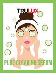 PURE CLEARING SERUM - CLEAR SKIN RANGE - MADE BY TRULUX