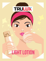 LIGHT LOTION - CLEAR SKIN RANGE - MADE BY TRULUX