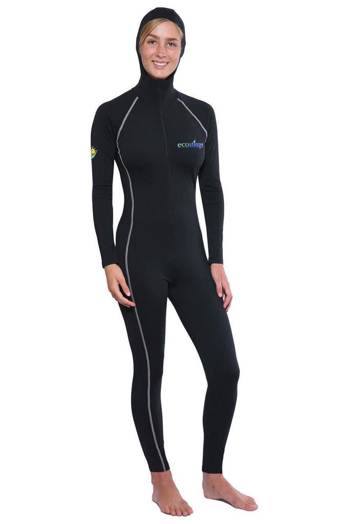 Women Full Body UV Swimsuit With Hood UPF50+ Protection (Chlorine Resistant)
