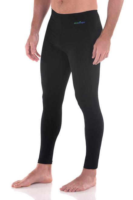 Men Sun Protective Clothing Swim Tights Full Legs Upf50