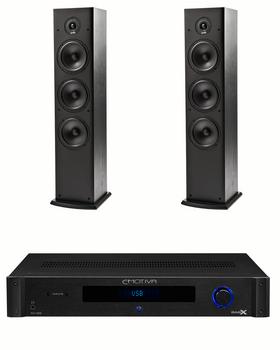 Sistema 2.0 Emotiva TA-100 + Polk Audio T50 HiFi