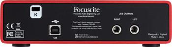 Focusrite Scarlett 2i2 (2nd Gen) Interfaz de Audio