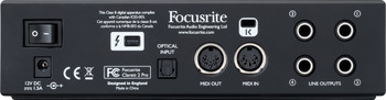 Focusrite Clarett 2Pre - Interfaz de Audio Lighting