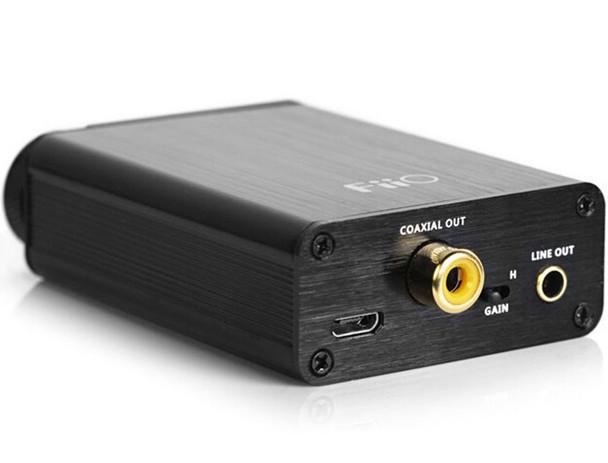 DAC USB + Amplificador Fiio E10K