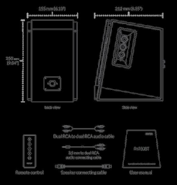 Parlante Activo Edifier R1700BT Bluetooth