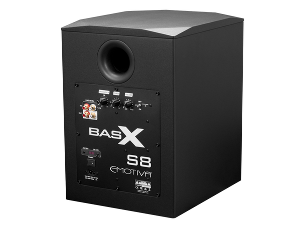 Subwoofer Emotiva BasX S8 - 8 Pulgadas 150W RMS