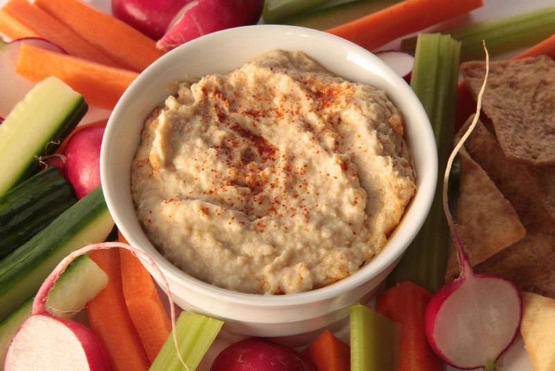 "Tony Polito's ""Fresh"" Homemade Hummus Recipe"