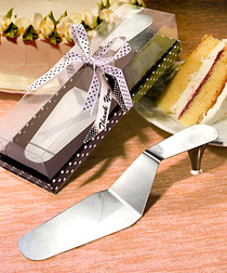 Stylish Stainless Steel Cake Server
