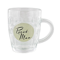 Amore By Juliana Glass Pint Tankard Best Man