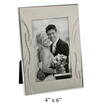 Impressions Photo Frame With Crystal Reed Design 4x6