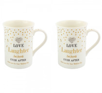 Mad Dots Love And Laughter Mug Set