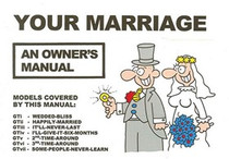 Your Marriage An Owner's Manual Book
