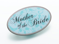 Mother of Bride Pin Aqua