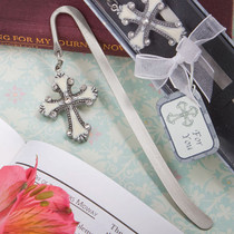 Cross Themed Bookmark Favours