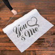 You And Me Aisle Runner