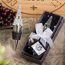 From Paris With Love Collection Eiffel Tower Wine Bottle Stopper Favours