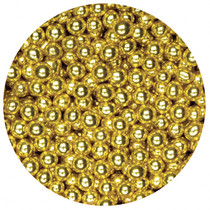 1kg Sugared Balls 4mm Gold