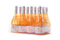 12 x Neon Orange Celebration Bubbles