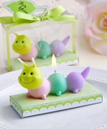 Adorable Baby Caterpillar Candles
